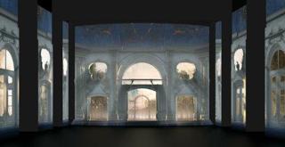 Cinderella   scena dall'atto I   di Carlo Cerri  video design Carlo Cerri Alessandro Grisendi Marco Noviello