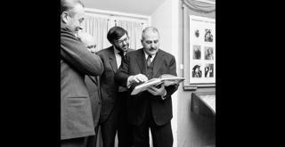70 1287PIN con Sergio Dragoni Ciro e Carlo Fontana nel 1969  ph Erio Piccagliani