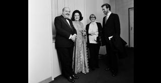 72 3756PIN nel 1971 con Leyla Gencer e Nina Vinchi ph Erio Piccagliani