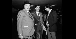 72 6701PIN con Massimo Bogianckino e Claudio Abbado a Monaco di Baviera nel  settembre 1972 ph Erio Piccagliani