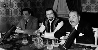 73 0692PIN con Maurice Bejart 1973 ph Erio Piccagliani