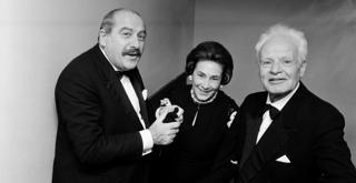 73 1606PIN con Wally Toscanini e Antonio Ghiringhelli ph Erio Piccagliani