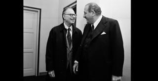 73 6781PIN con Karl Bohm 3 ottobre 1973 ph Erio Piccagliani