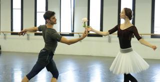 Bella   le prove in sala   Svetlana Zakharova Nicola Del Freo ph Brescia e Amisano Teatro alla Scala K65A5085