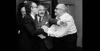 74 10038PIN 1974 2 ottobre con Maurizio Pollini e Mstislav Rostropovich ph Erio Piccagliani