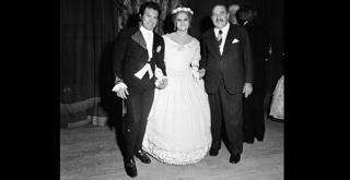 74 6584PIN con Luigi Alva e Lucia Valentini Terrani Cenerentola 1974 ph Erio Piccagliani