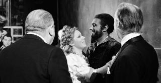 76 9542PIN con Mirella Freni e Placido Domingo Otello 7 dic 1976 ph Erio Piccagliani