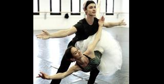 La Bella addormentata Polina Semionova e Timofej Andrijashenko prove in sala   Ph Brescia e Amisano Teatro alla Scala SITO
