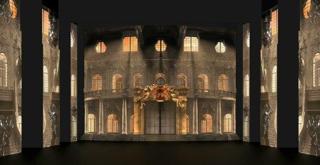 Cinderella   scena dall'atto I I  di Carlo Cerri  video design Carlo Cerri Alessandro Grisendi Marco Noviello
