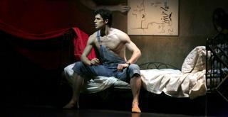 Le Jeune homme..Roberto Bolle ph Brescia e Amisano Teatro alla Scala