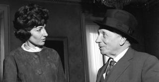 Callas e Serafin nel 1960 70391PIN