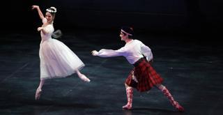 la Sylphide Vittoria Valerio Nicola Del Freo ph Brescia e Amisano © Teatro alla Scala