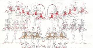 Le Corsaire disegni dei costumi di Luisa Spinatelli (1)