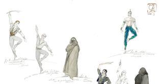 Le Corsaire disegni dei costumi di Luisa Spinatelli (2)