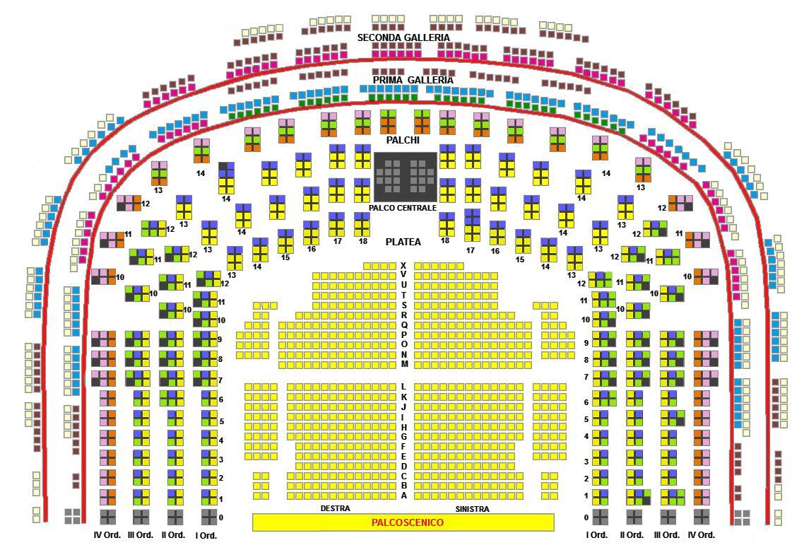 online retailer 223d0 082e1 Tariffa Opere 1 2018/2019 - Teatro alla Scala