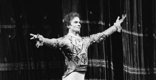 Rudolf Nureyev alla Scala   ph Lelli e Masotti
