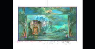 Sylvia   disegno di una scena di Luisa Spinatelli (1)