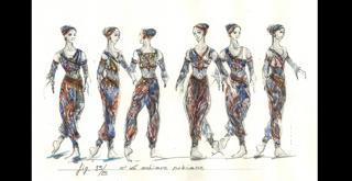 Sylvia  disegno dei costumi   di Luisa Spinatelli (7)
