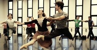 Sylvia le prove in sala ballo   ph Brescia e Amisano Teatro alla Scala  (16)