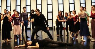 Sylvia le prove in sala ballo   ph Brescia e Amisano Teatro alla Scala  (21)