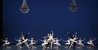 Symphony in C   Chor. by George Balanchine © School of American Ballet (1)