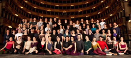Members of the ballet