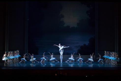 Swan lake (Act I)