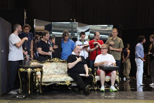 Der Rosenkavalier backstage